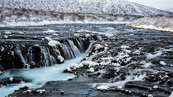 Brúarfoss from a Different Angle (Iceland)