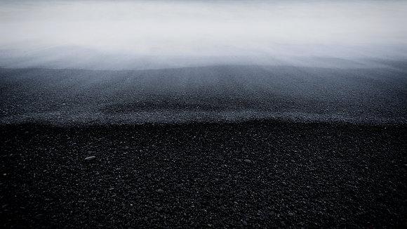 Beach at Vík í Mýrdal (Iceland)