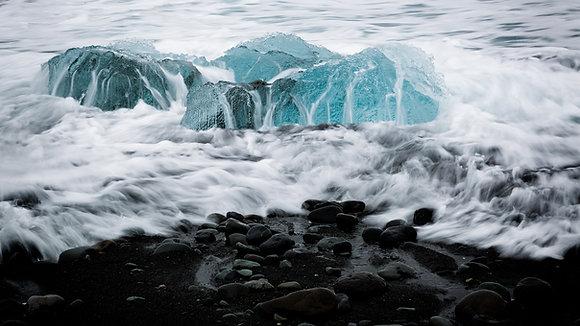 Jökulsárlón Beach 3 (Iceland)