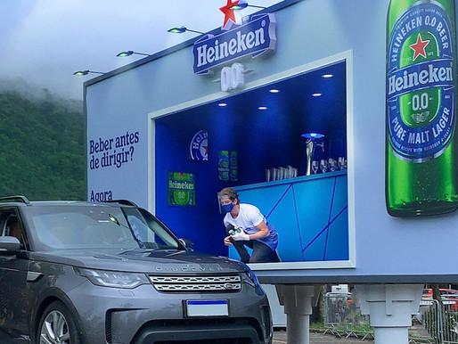 """Heineken 0.0 apresenta """"Outdoor Bar"""""""