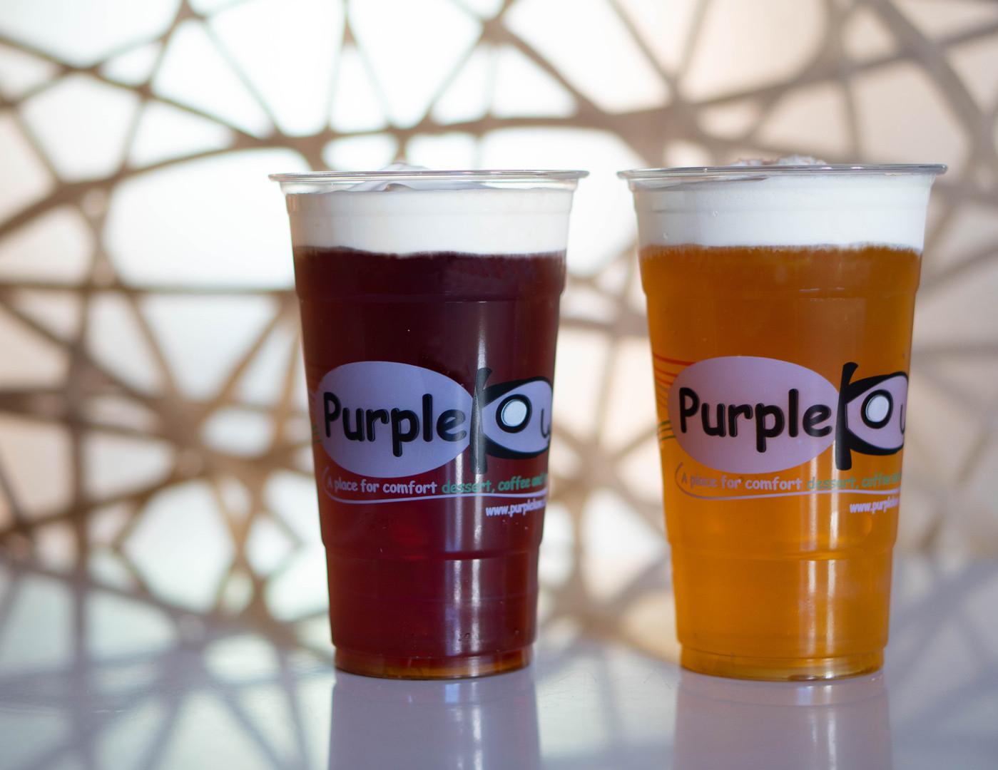 E1 Purple Kow Tea Crema
