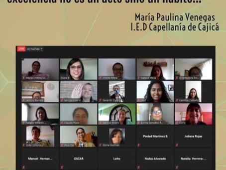Los líderes del sector educativo de Sabana Centro se inspiraron con la Fundación Santa Isabel