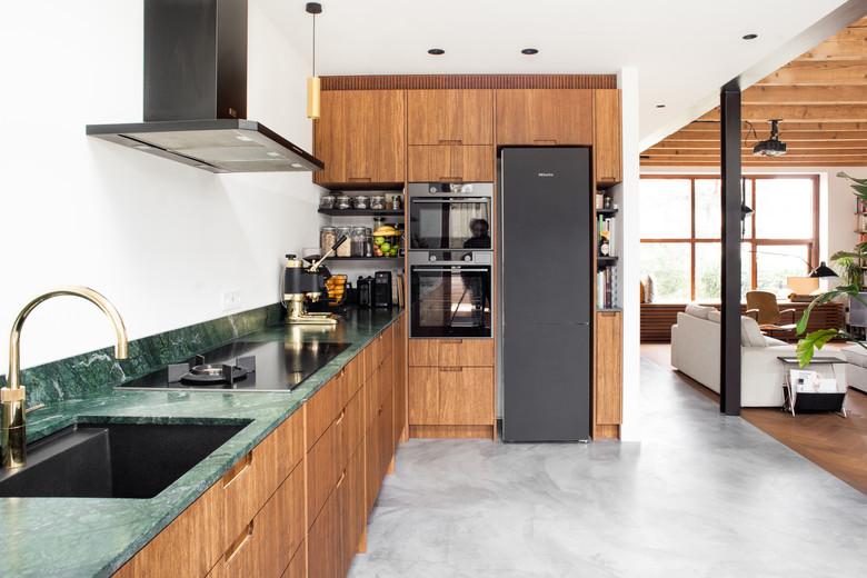 Keuken Marieke en Jeroen - hoge wand - D