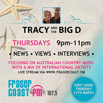 Tracy and the Big D Radio Show   Fraser Coast FB 107.5
