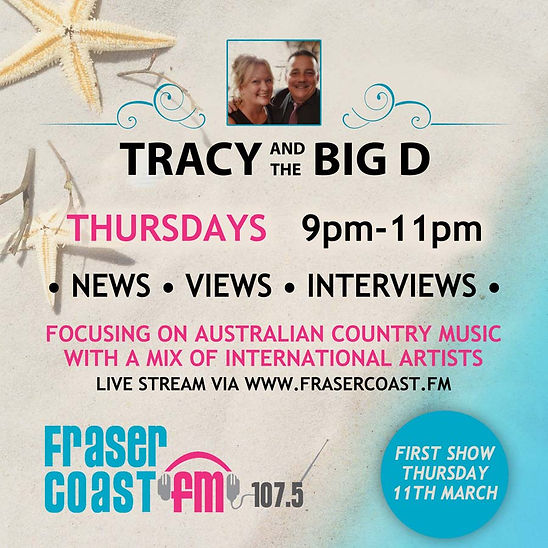 Tracy and the Big D Radio Show | Fraser Coast FB 107.5