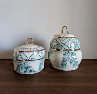 Two Small Jars