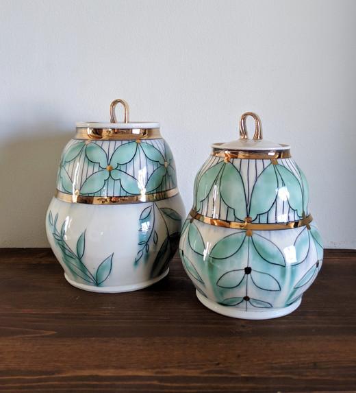 Two Large Jars