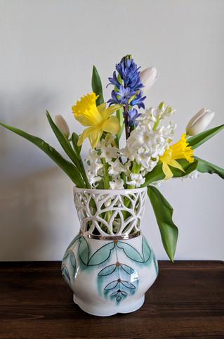 Cut Out Vase