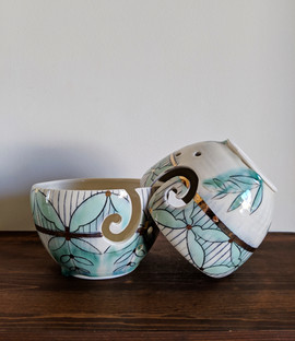 Two Yarn Bowls