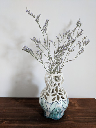 Pierced Mid Size Vase