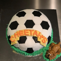 Made this to celebrate an awesome soccer