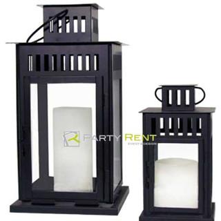 candelabros negros de piso