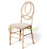 silla phoenix de madera natural vintage