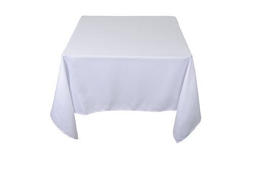 Mesa con Mantel Cuadrada