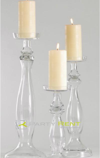 candiles de cristal