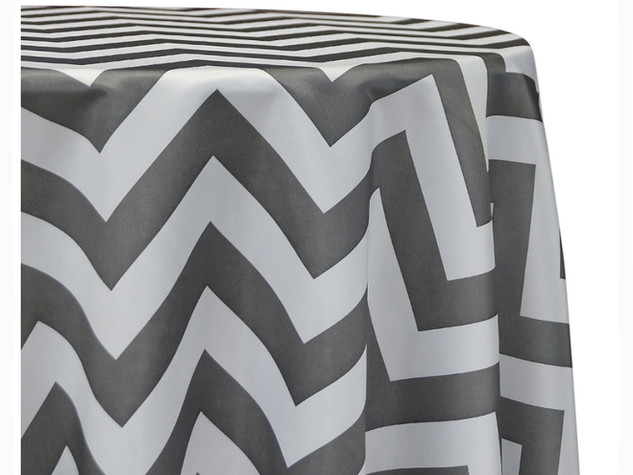 mantel chevron gris