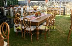renta de mesas y sillas