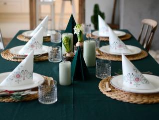1.desember og juledekka bord