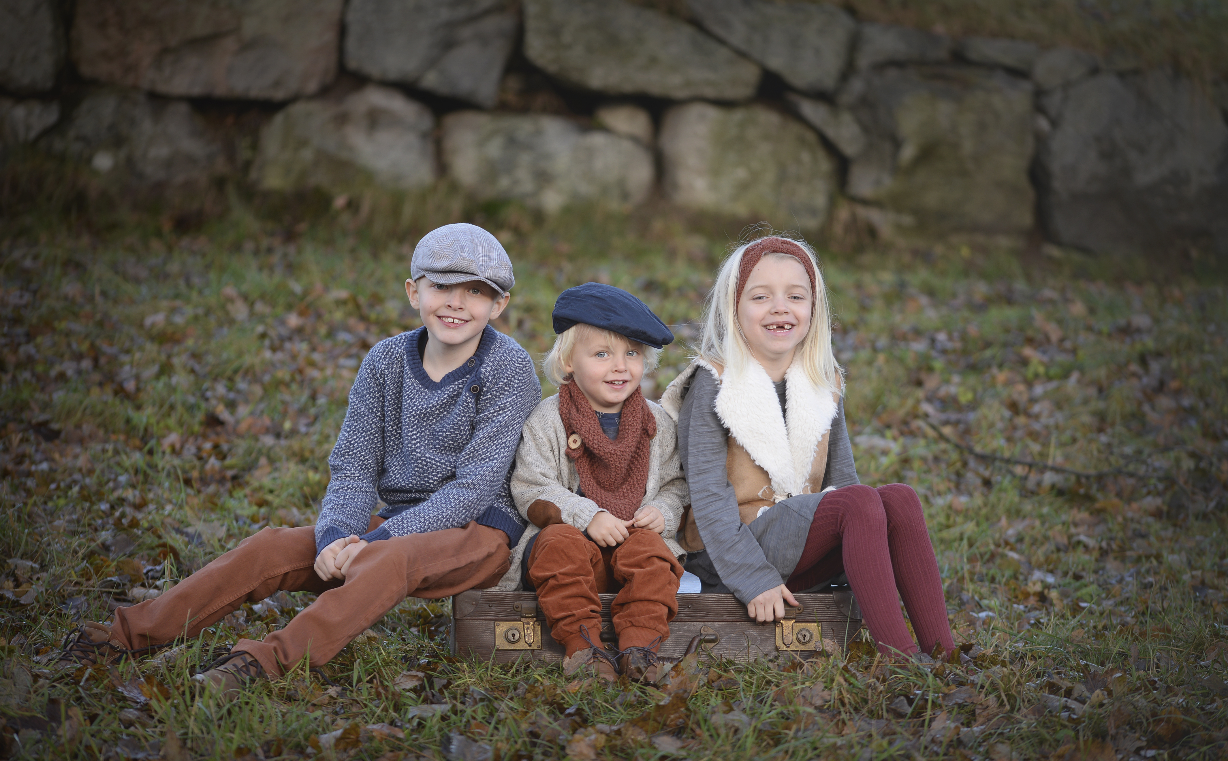 Jonah, Frida og Lyder