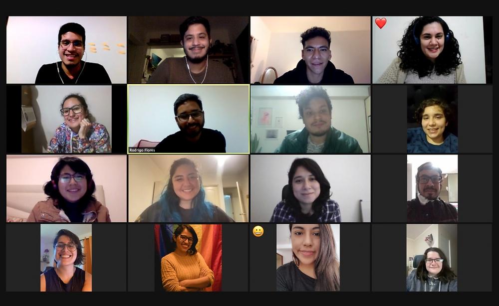 Activistas de Más Igualdad Perú