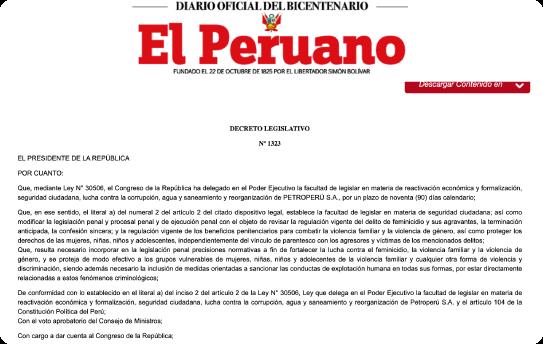 Decreto lesgislativo 1323