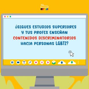 Prácticas LGBTfóbicas en la educación superior