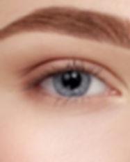 closeup-beautiful-female-blue-eyes-with-