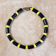 California banded kingsnake, yellow bands