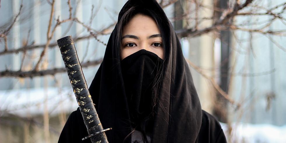 Monthly AcroYoga JAMS: the Ninja edition