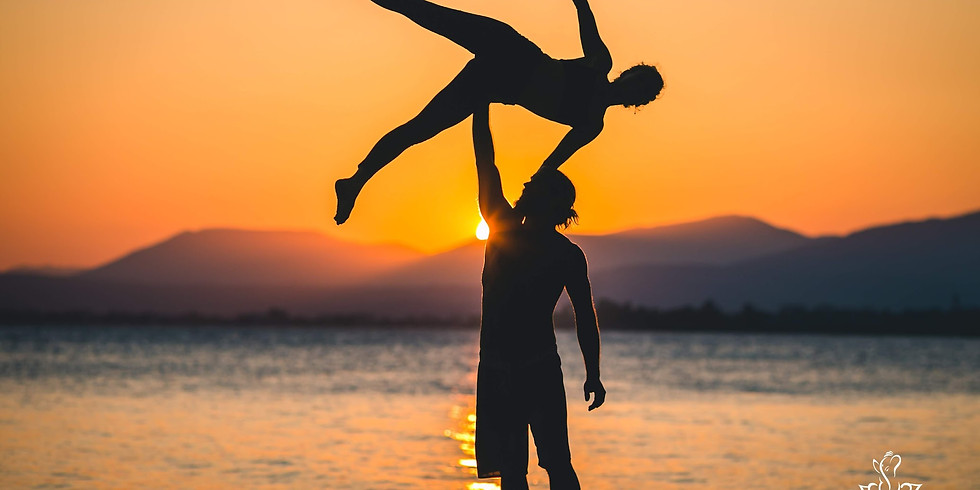 Let the sunshine in with an AcroYoga JAM!