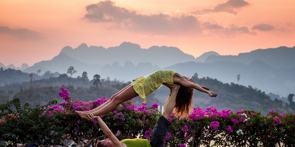 AcroYoga JAM: Let's celebrate human touch!