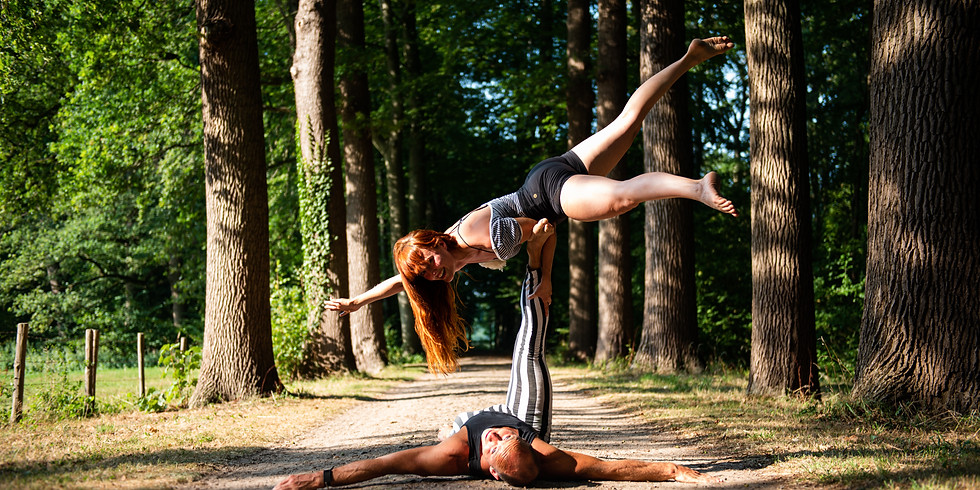 AcroYoga Above & Beyond Summer Weekend part I