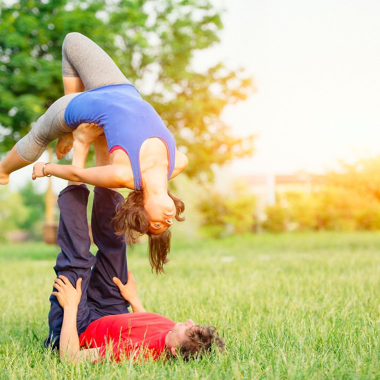 3-month AcroYoga Adventure Above & Beyond - Level 1 The Foundation
