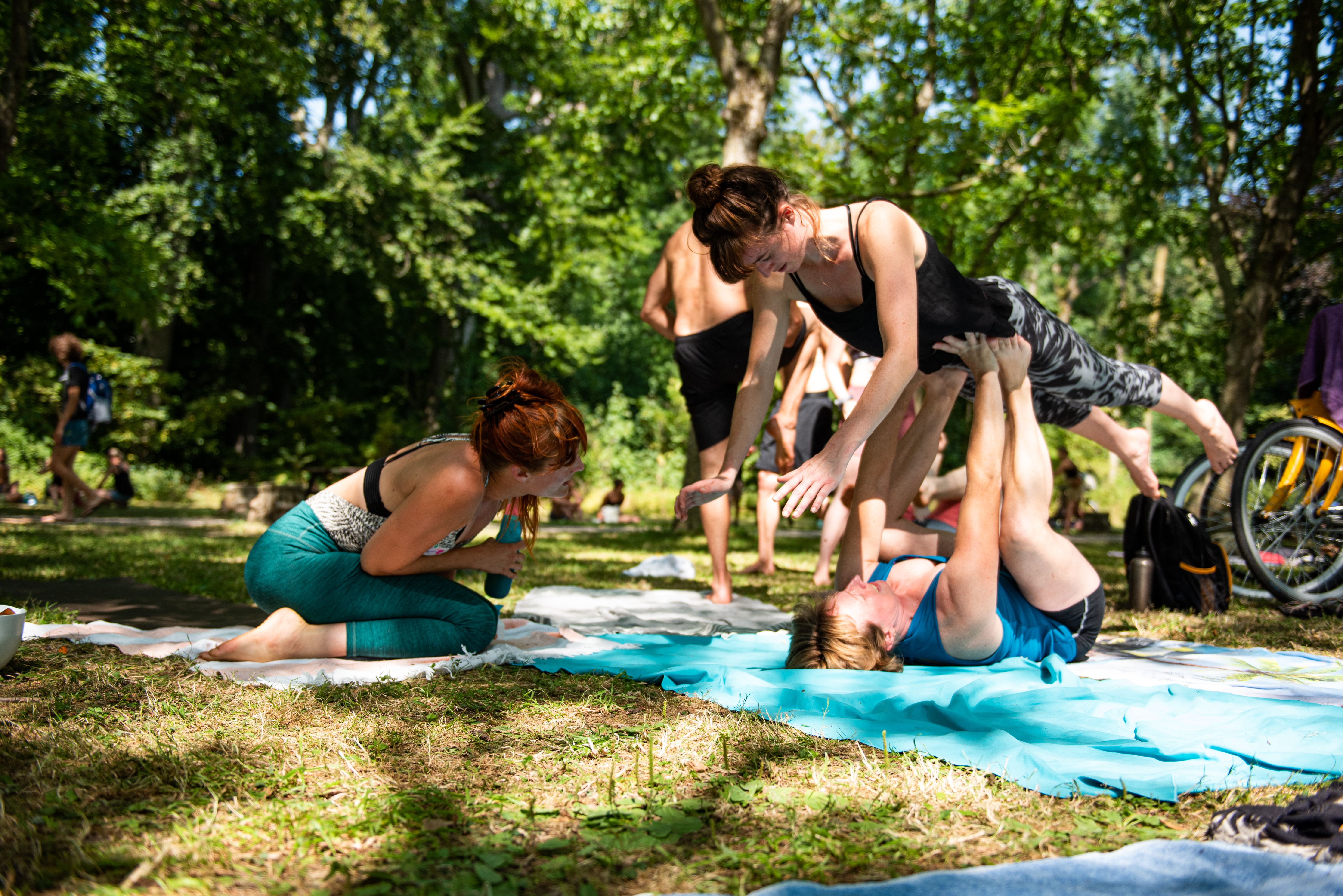 Private AcroYoga Coaching