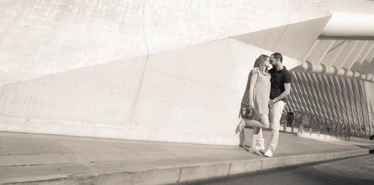 Séance d'engagement, photographe professionnel