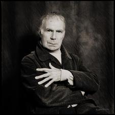 Portrait de Jacques Dufilho Pascal Winkel Photo-Graphisme- liège