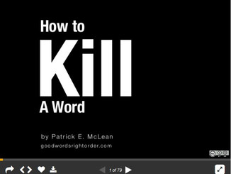 Why You Need to Kill Words