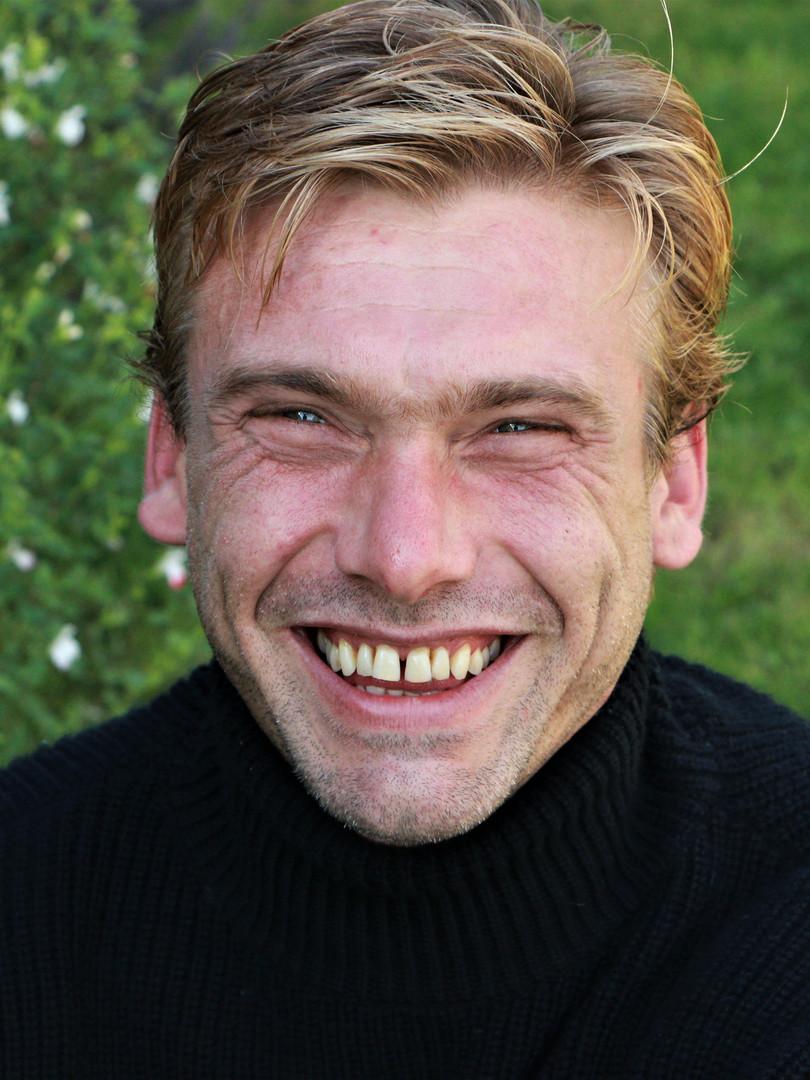 Michael Walter Smiling
