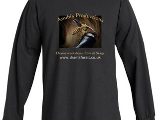 Anubis Productions t-shirts ordered
