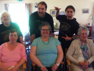Improvisational Show at Pullen Court Day Centre, Shepton Mallet on 27/5/2015.