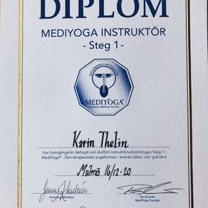 MediYoga - diplomerad instruktör