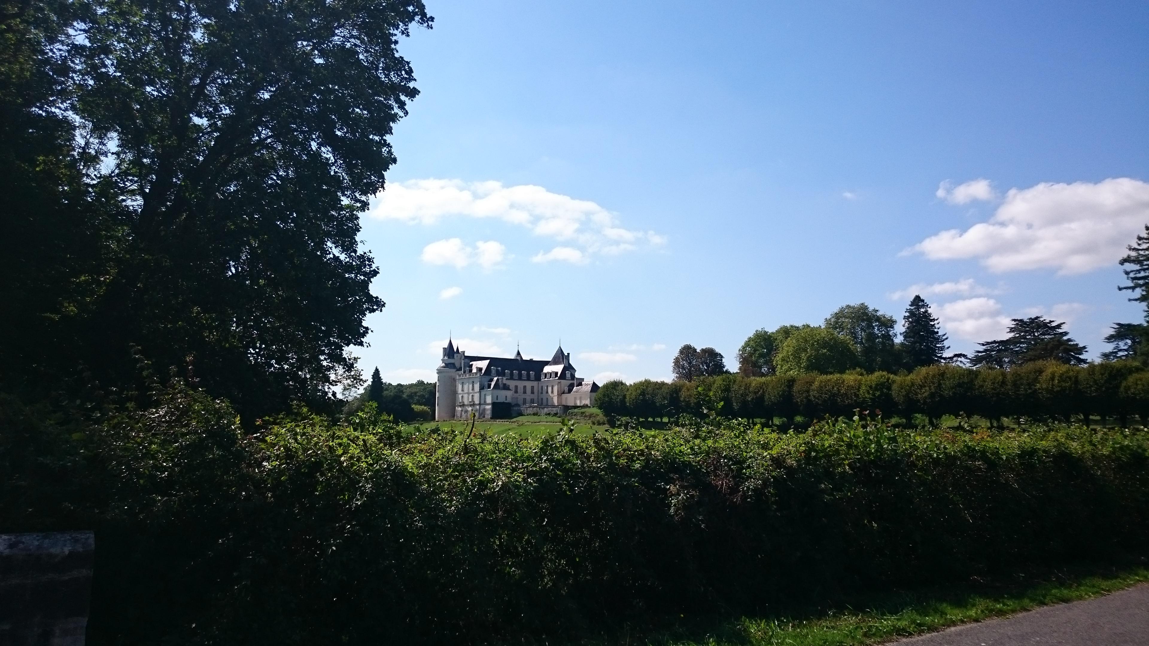 Château Grillemont vue lointaine