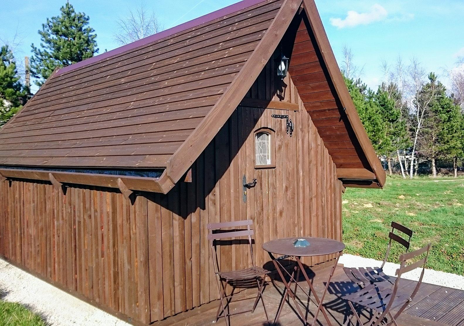 domaine de la grang e cabane trappeur zoo beauval chenonceau. Black Bedroom Furniture Sets. Home Design Ideas
