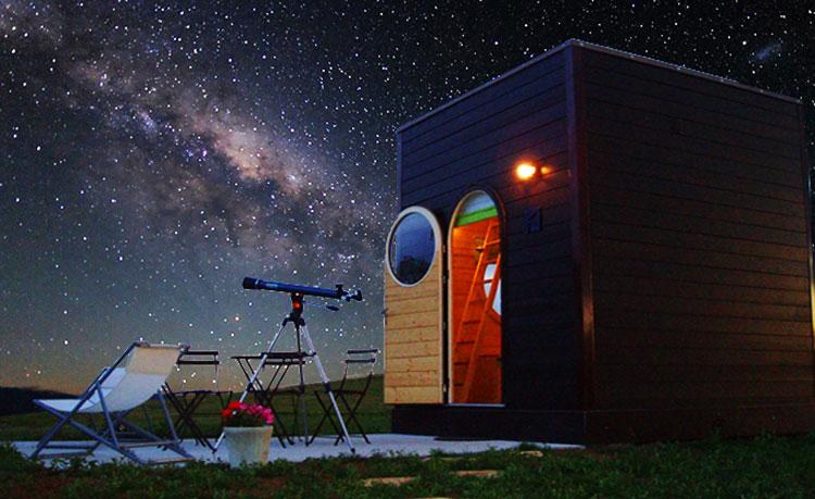 Nuit insolite à la belle étoile