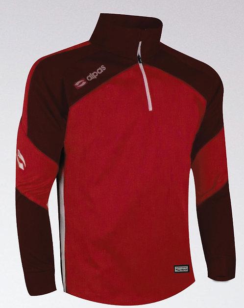 DYNAMIC Sweatshirt Red/Burgundy/White