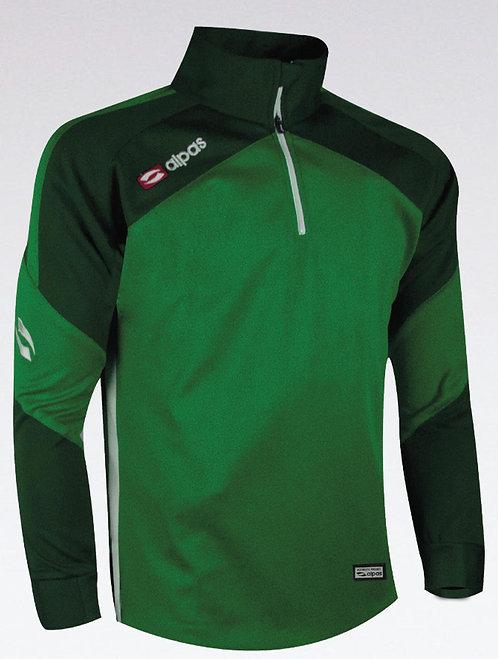 DYNAMIC Sweatshirt Green/Dark Green/White