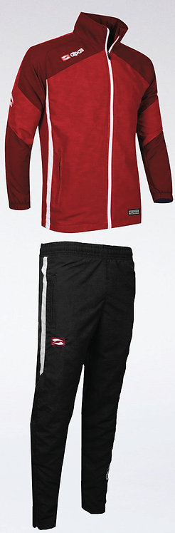 DYNAMIC Presentation Wear Red/Burgundy/White