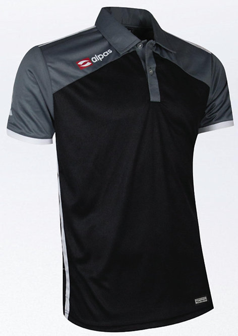 DYNAMIC Polo Shirt Black/Grey/White