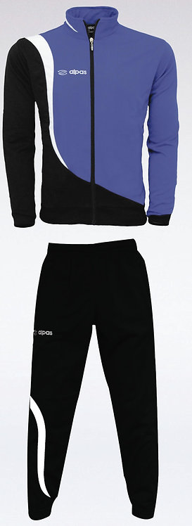 ELEGANCE Training Tracksuit Blue/White/Black