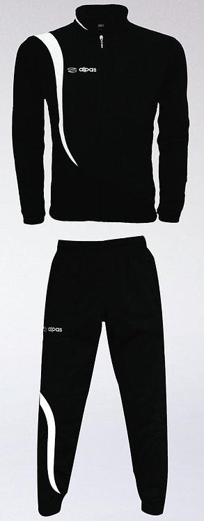 ELEGANCE Training Tracksuit Black/White
